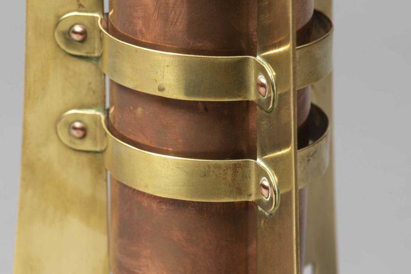 Gustave Serrurier-Bovy <span> Paire de vases </span>