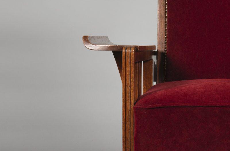 Gustave Serrurier-Bovy <span>Fauteuil en chêne</span>