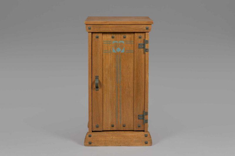 Gustave Serrurier-Bovy <span>Table de nuit «Silex»</span>