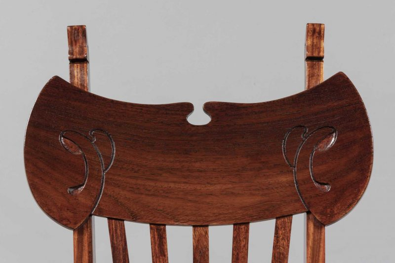 Gustave Serrurier-Bovy <span>Série de six chaises </span>